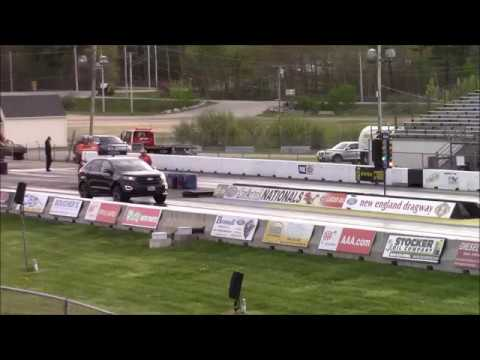 Ford Edge Sport   Mile Passes Best Time   Mph