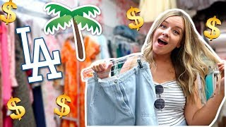 COME THRIFT WITH ME IN LA!