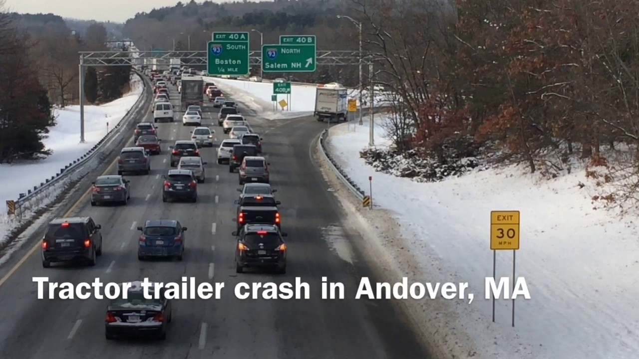 Morning rollover causes traffic nightmare - YouTube