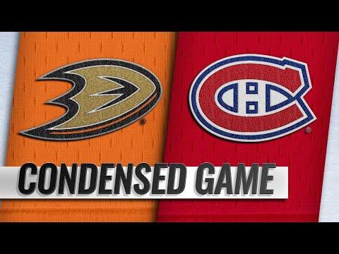 02/05/19 Condensed Game: Ducks @ Canadiens