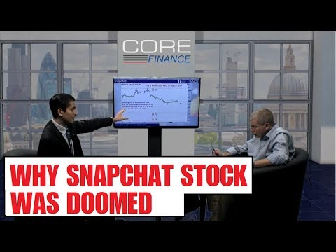 Why Snapchat and Web Stocks Are DOOMED From The Start