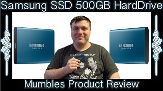 Samsung T5 Portable SSD 500 GB External Hard Drive Mumbles Product Review