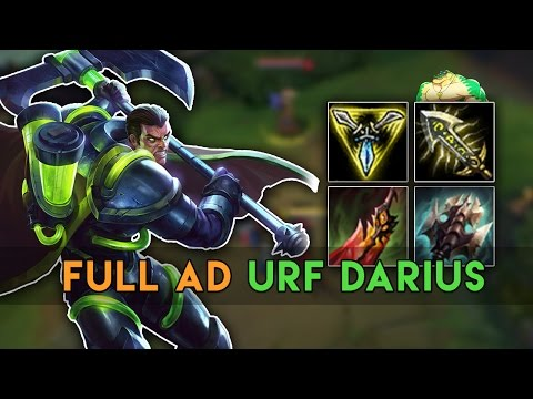 URF DARIUS HIGHLIGHTS - Best Of Urf Mode 2017 (League Of Legends)