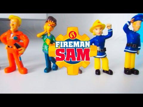 Пожарный Сэм🔥🚨🚗 Fireman Sem / Feuerwehrmann Sem / Video for Kids🔥🚨🚗 Alex and toys 0+