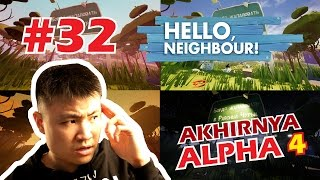 KITA BONGKAR HABIS RAHASIA ALPHA 4 - Hello Neighbor [Indonesia] Gameplay #32