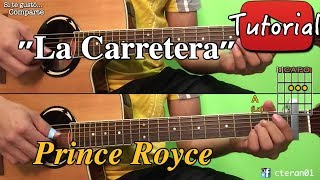La Carretera - Prince Royce Instrumental Cover/tutorial Guitarra Bachata