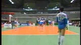第1回Vリーグ(小田急vs日立)