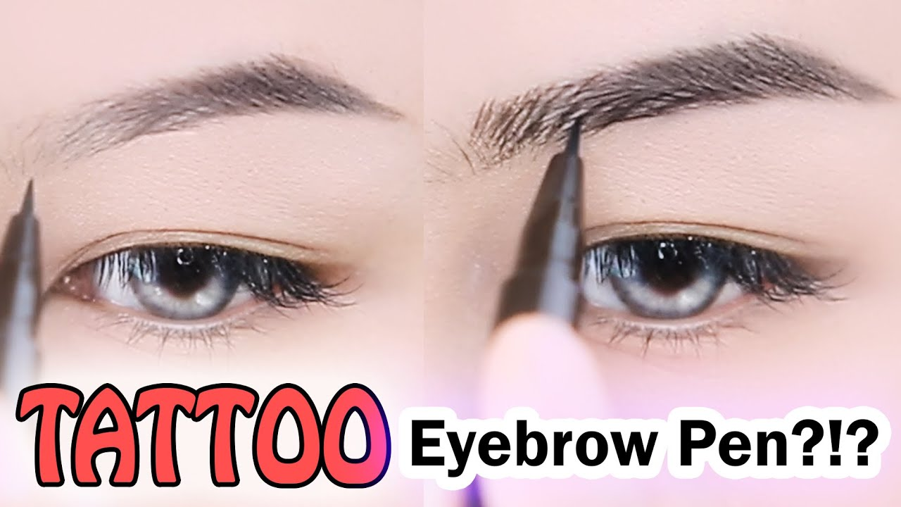 TATTOO EYEBROW PEN?!?! ♥ Tony Moly 7 Day Tattoo Eyebrow