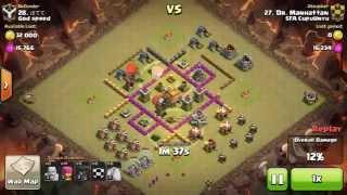 WAR TH6 vs TH7 Premature Clash of Clans 2015