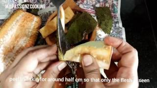 How to cook raw Jackfruit