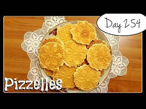 Pizzelles Recipe [Food Challenge: DAY 254]