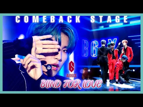 [Comeback Stage] AB6IX-BLIND FOR LOVE,에이비식스-BLIND FOR LOVE Show Music Core 20191012