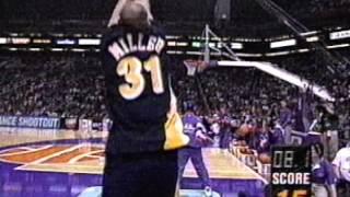 Reggie Miller Heats Up in 1995 NBA 3pt. Shootout