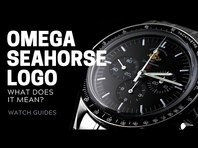 Omega Seahorse Logo: What Does It Mean? | SwissWatchExpo [Omega Watches]