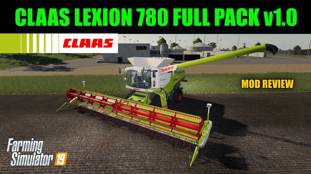 Farming Simulator 19 - Claas Lexion 780 Full Pack v1 0