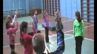 Видео 1 урока физкультуры
