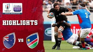 New Zealand 71-9 Namibia | Rugby World Cup 2019 Match Highlights