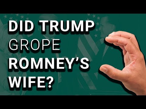 Trump Caught on Video Sexually Assaulting Mitt Romney's Wife?