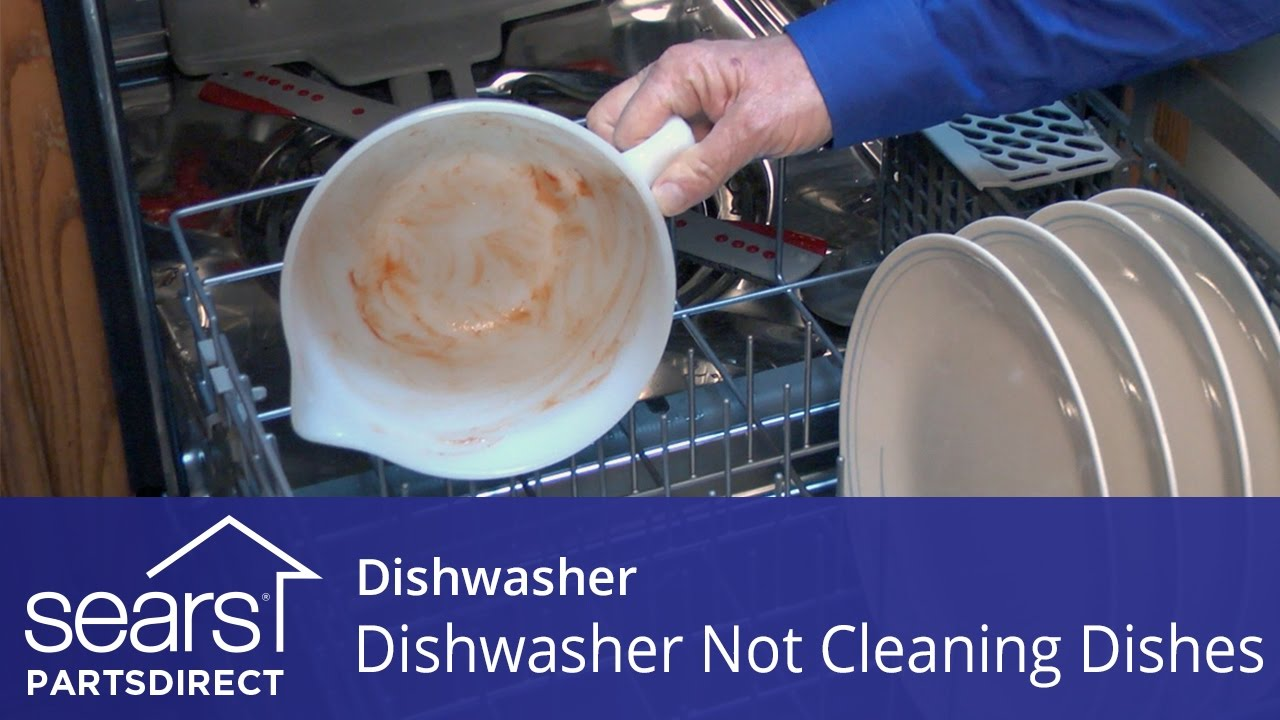 Etonnant Dishwasher Not Cleaning Dishes