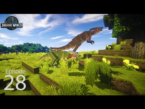 Jurassic World Season 2 Day 27 - Triassic (Ark Survival in Minecraft)