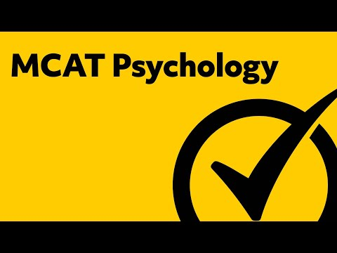MCAT Psychology Study Guide