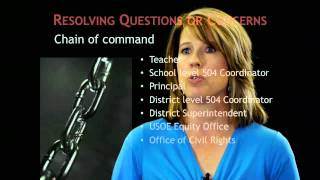 Section 504 - Problem Solving
