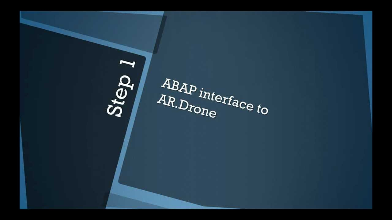 Siri Drone Assembly Instructions | SAP Blogs