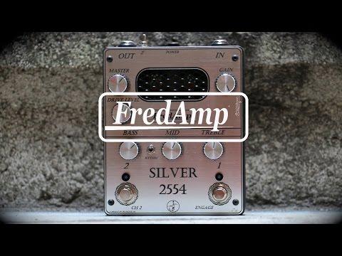 Fredamp Silver 2554 demo