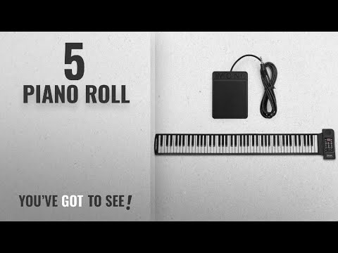 Top 10 Piano Roll [2018]: Flexzion Portable Roll Up Piano - Digital Electronic Keyboard with 88 Keys