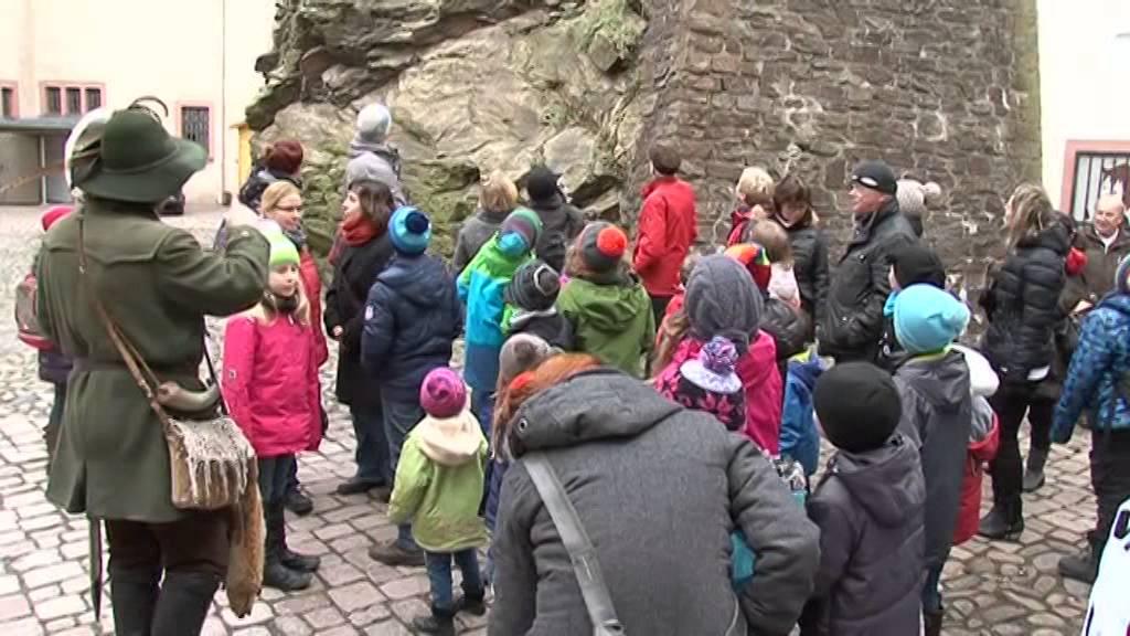 Erlebnisführung auf Burg Scharfenstein - YouTube