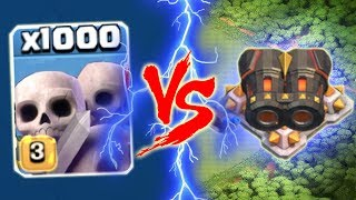 Momen COC Lucu - 1000 Botaks Vs Meriam Ganda - Clash Of CLans Indonesia