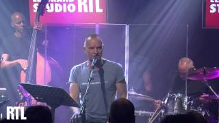 Sting - Practical Arrangement en live dans le Grand Studio RTL - RTL - RTL