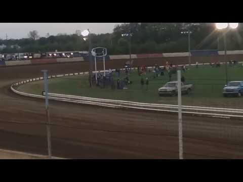 Joey Saldana Qualifying  Terre Haute Action Track
