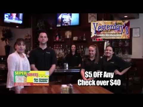 Super Savers May TV ad #3 - Yesterday's Restaurant, Chicken Holiday, Monmouth Meats