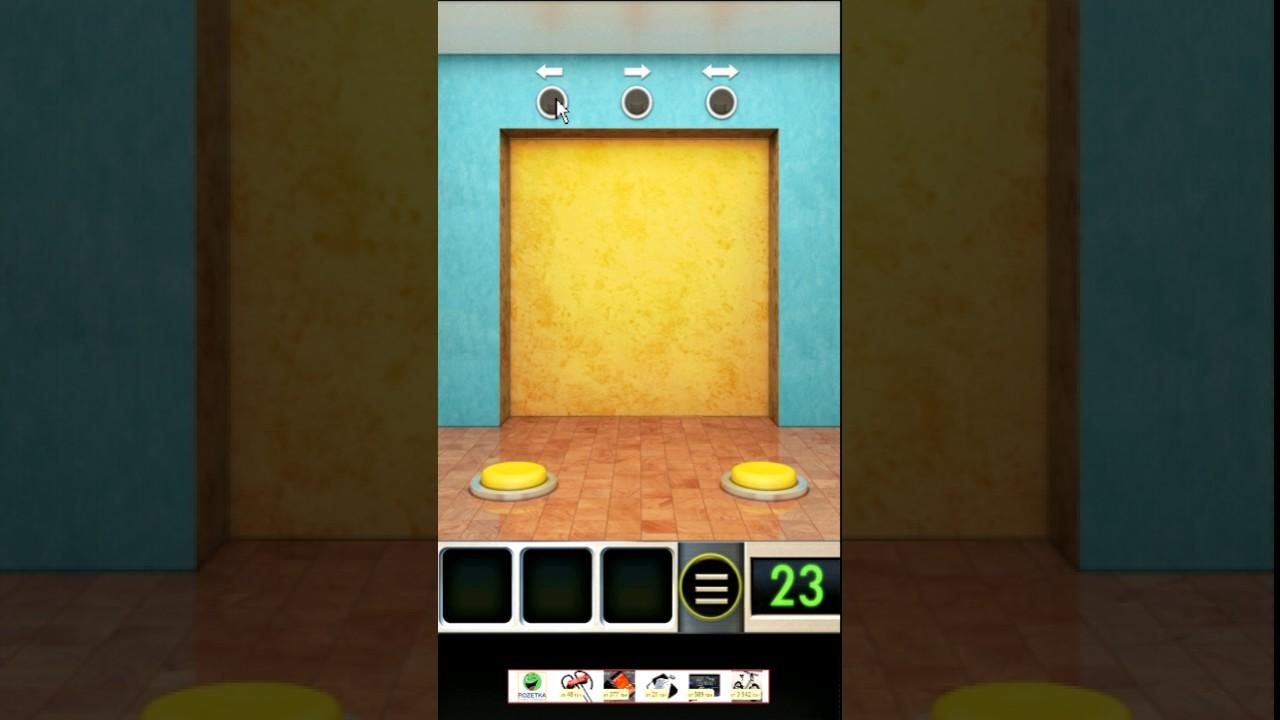 100 doors one level 23 walkthrough youtube for 100 doors door 23