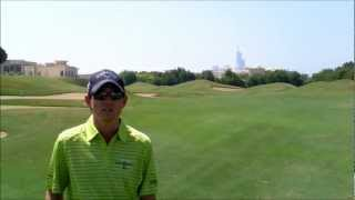 Under the Spotlight The Address Montgomerie Dubai Hole 7 - The Approach