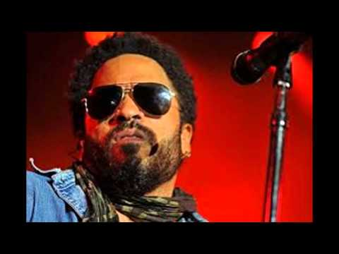 Lenny kravitz rips leather pants on stage accidentally exposes