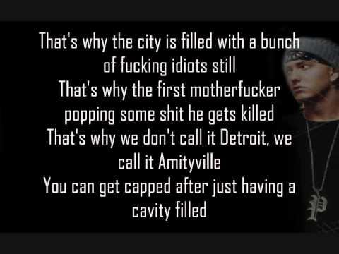 Eminem- Amityville Lyrics