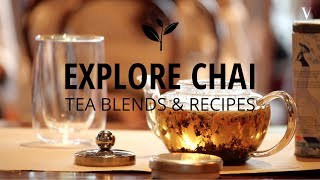 #VajorExperiences -Tea Blending Workshop
