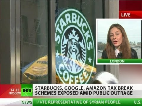 'Immoral' Big Biz: Starbucks, Google, Amazon tax-scams exposed in UK