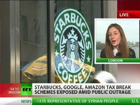'Immoral' Big Biz: Starbucks, Google, Amazon tax-scams exposed in UK