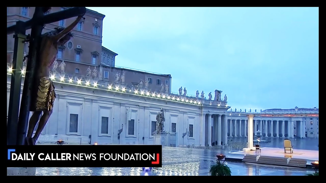 Pope Francis Gives Blessing In Empty Vatican Amid Pandemic