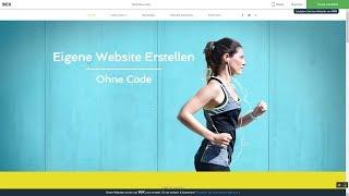 Eigene Website Erstellen 2018 - Ohne Programmieren - Wix Tutorial