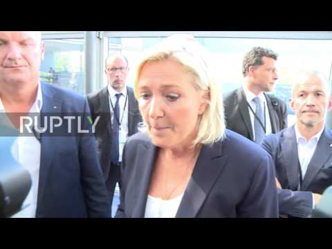 France: Le Pen stresses 'Made in France' slogan for national