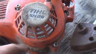 пилосос навпаки ремонт stihl 86
