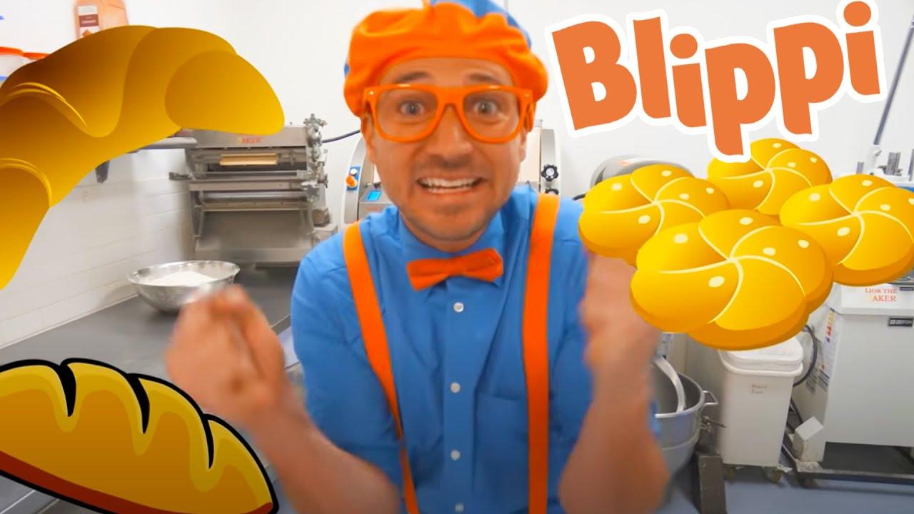 Blippi Visits A Bakery | Food Videos For Kids