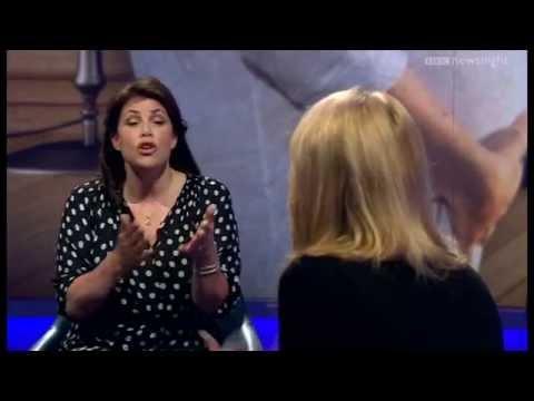 Kirstie Allsopp's 'depressing' advice for women - Newsnight