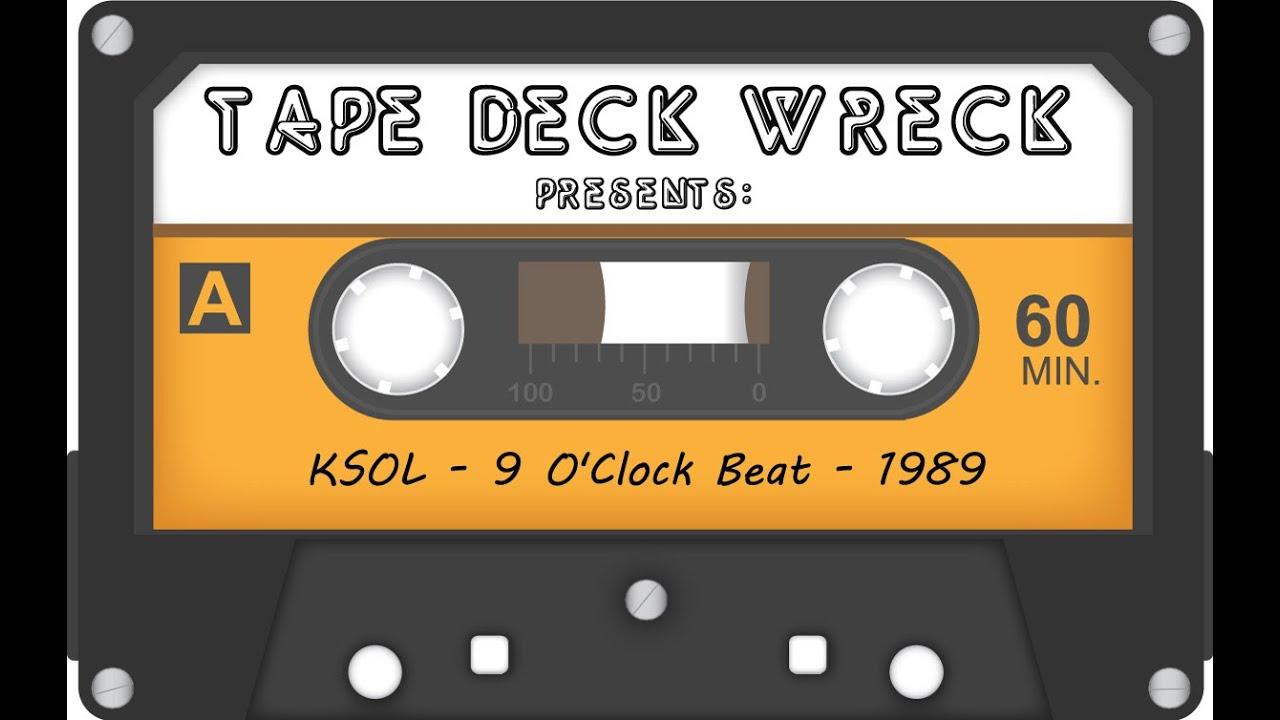 KSOL - 9 O'Clock Beat 1986