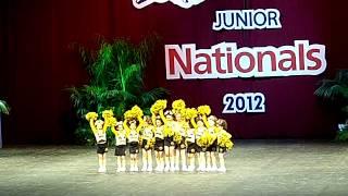 Watsonville Jr Wildcatz Mighty mites 2012 Jr. Nationals