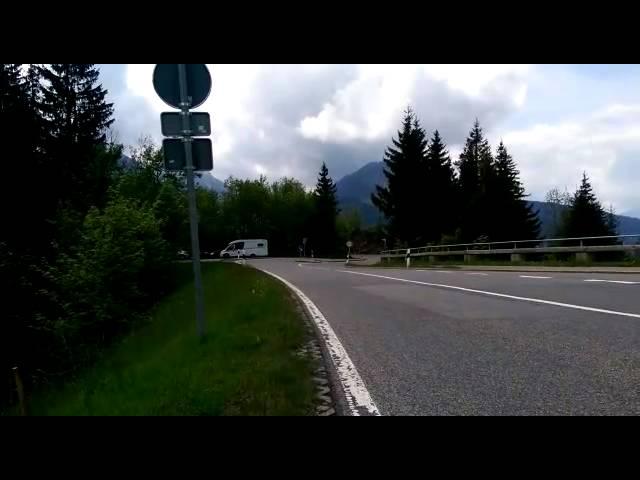 SV1000 N Oberjoch full exhaust